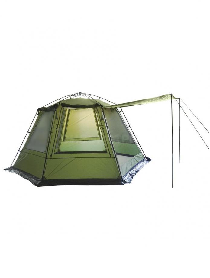 Тент-шатер автомат BTrace Opus, 360х320х210, зеленый