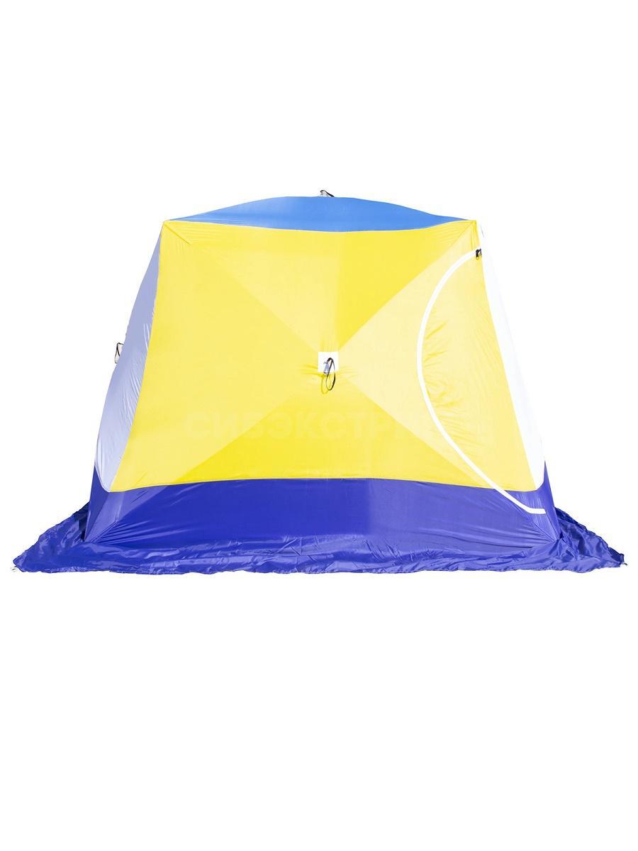 Палатка Стэк КУБ-4 Т трехслойная дышащая