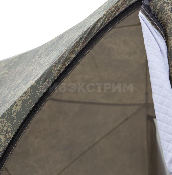 Палатка Стэк КУБ-4 Т трехслойная, камуфляж