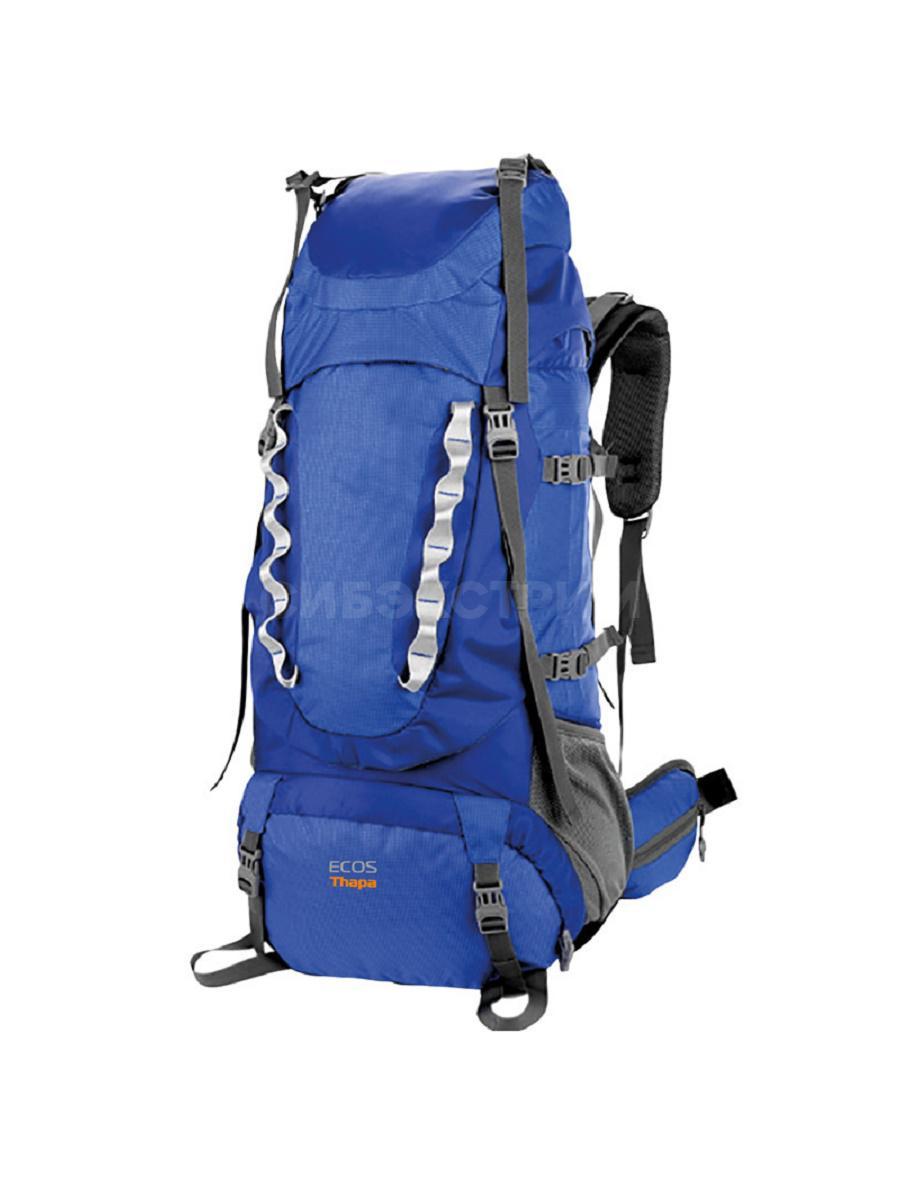 Рюкзак ECOS Thapa синий 65л