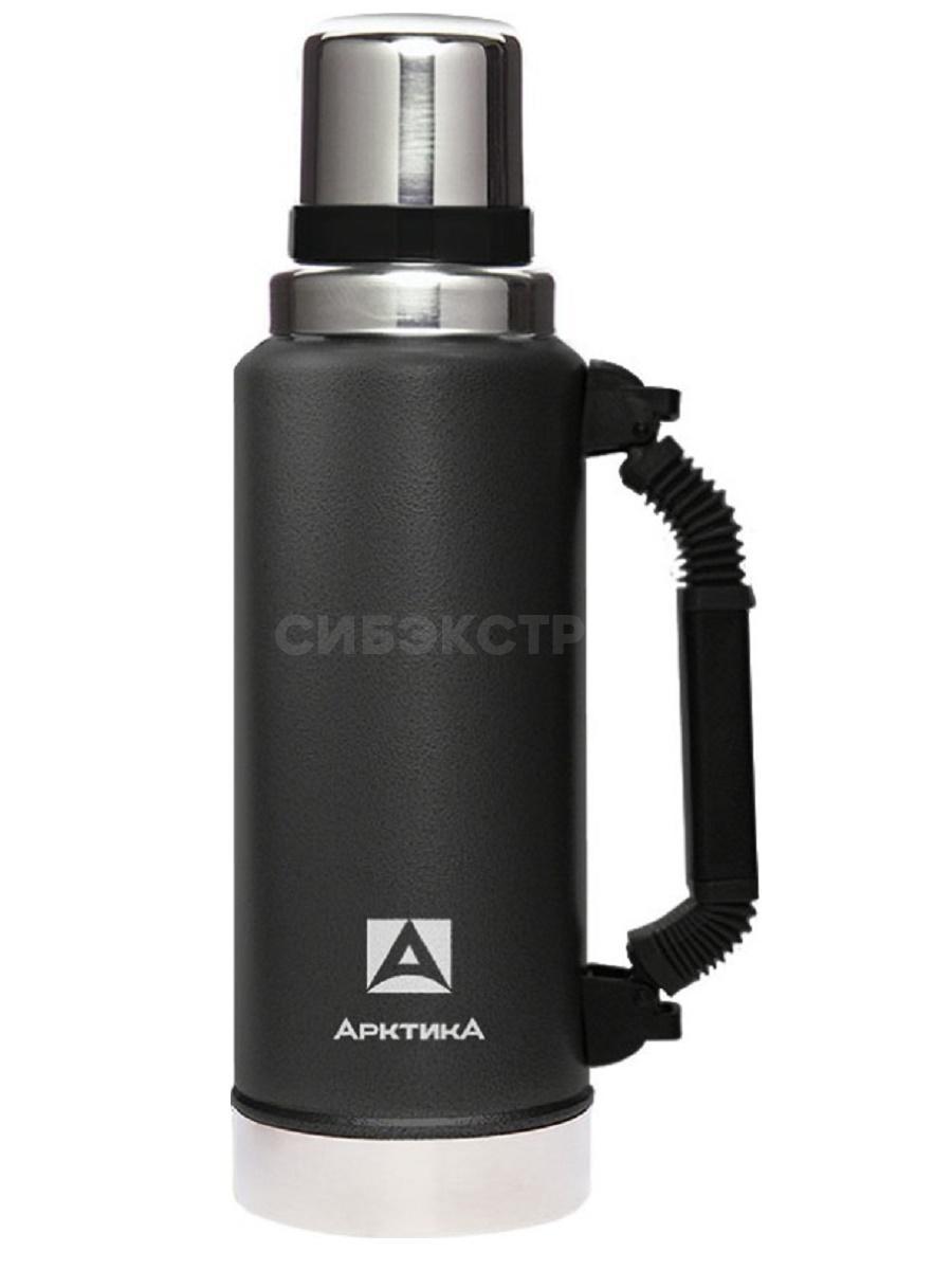 Термос АРКТИКА 106-1250P вакуумный, 1250мл, черный