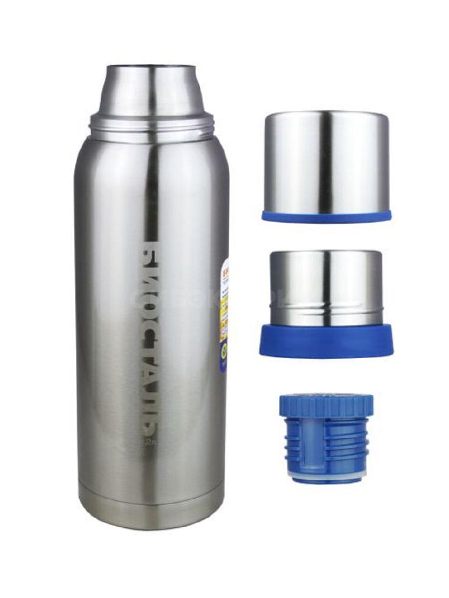 Термос Biostal Охота NBA-1000 1,0л (узкое горло, 2 чашки)