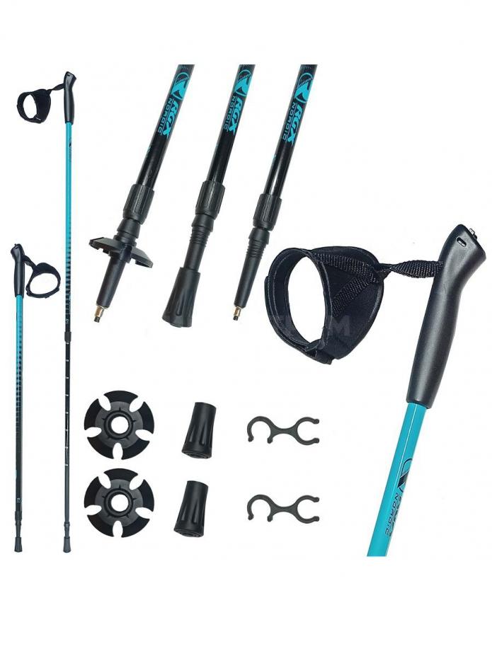 Палки для скандинавской ходьбы NWS-101 blue