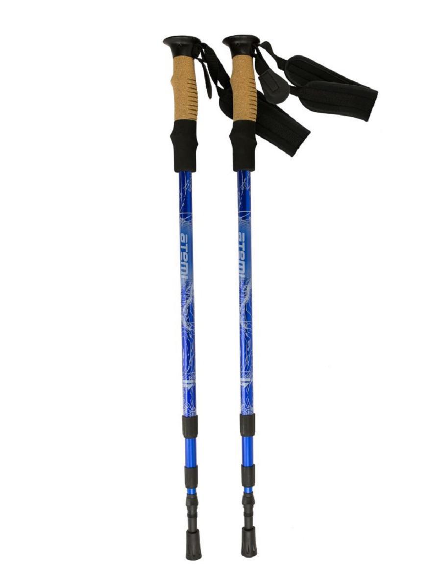Палки треккинговые Atemi ATP-05 blue
