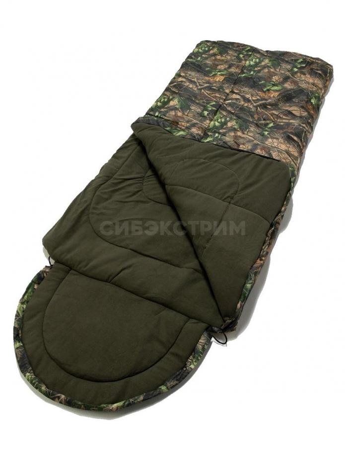 Спальный мешок Аляска цвет Лес ткань Оксфорд (t -25)