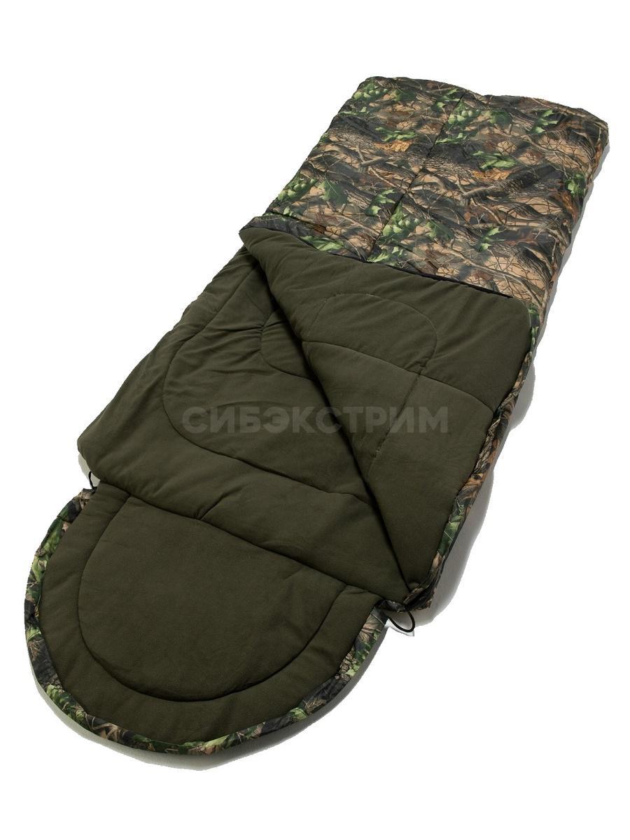 Спальный мешок Аляска цвет Лес ткань Оксфорд (t -20)
