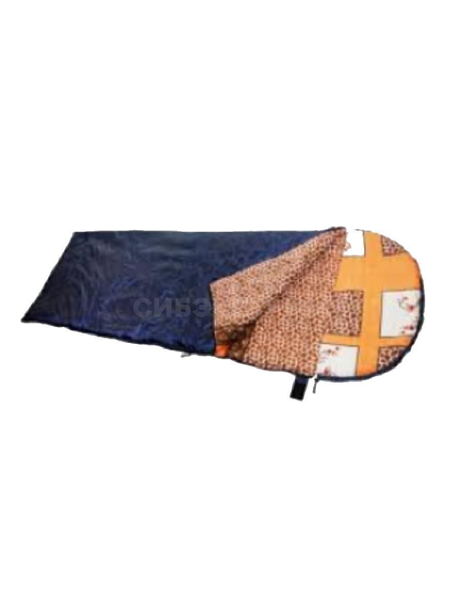 Спальный мешок одеяло с подголовником СОПУ-300 удлиненный (t -5)