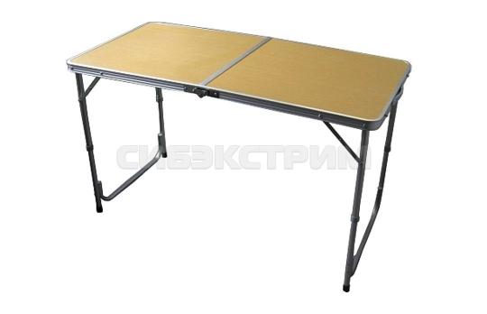 Стол Woodland Family Table, складной, 120 x 60 x 70 см (алюминий)