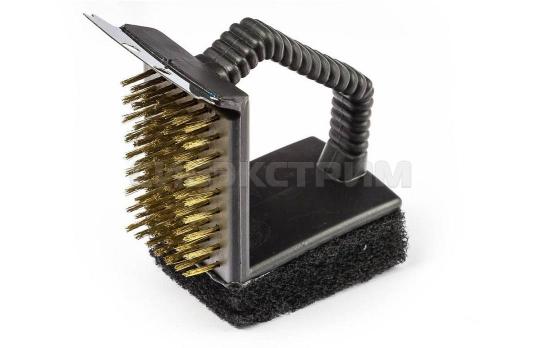 Щётка BOYSCOUT для чистки гриля 61334