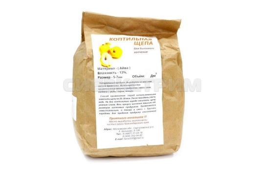 Щепа для копчения (айва) 1,5 дм3