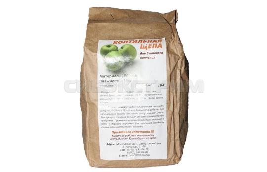 Щепа для копчения (яблоня) 1,5 дм3