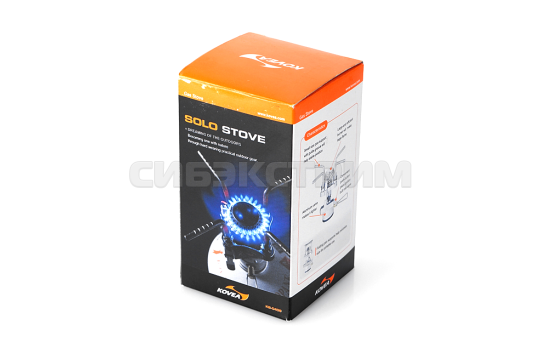 Горелка газовая Kovea KB-0409 Solo Stove