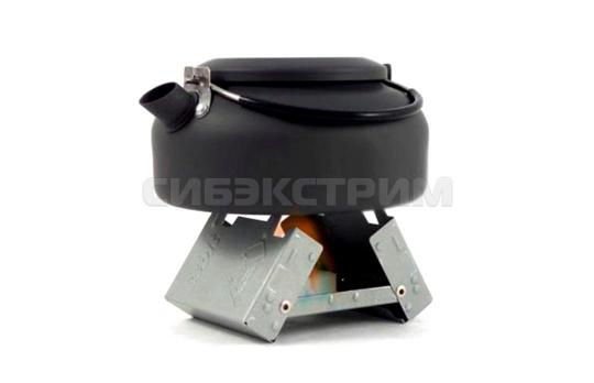 Кейс-горелка для сухого горючего СЛЕДОПЫТ-Mini 100x75x20 мм
