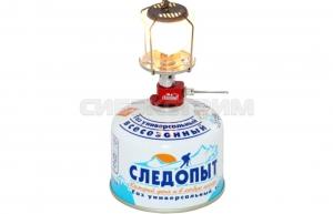 Лампа газовая СЛЕДОПЫТ Северное Сияние стекло