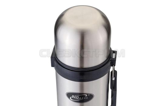 Термос Biostal NY-1000-2 1л (узкое горло,ручка)