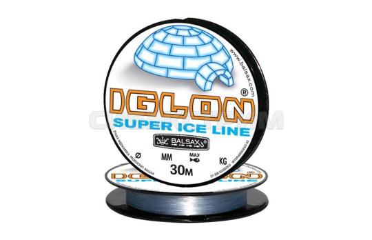 Леска Balsax Iglon 30м (серо-голубая)