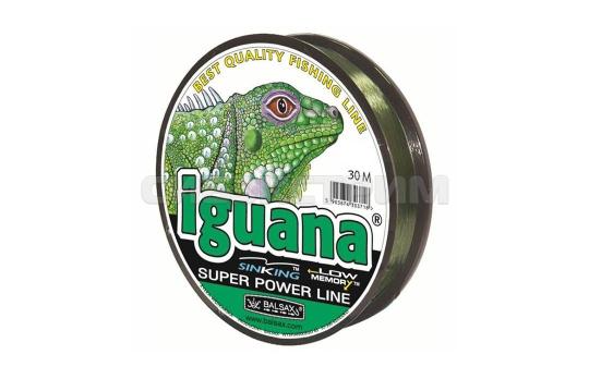 Леска Balsax Iguana 30м (зеленая)