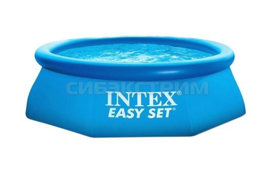 Надувной бассейн Intex Easy Set насос с фильтром 220V 305x76