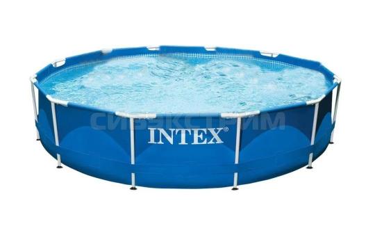 Каркасный бассейн Intex Metal Frame 305x76