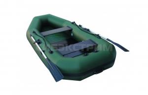 Лодка ПВХ Leader Компакт-280 гребная, зеленый
