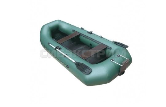 Лодка ПВХ Leader Компакт-300Р гребная, зеленый