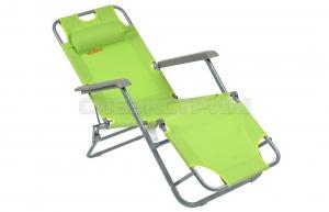 Кресло складное Woodland Lounger, 153 x 60 x 79, цвет зелёный