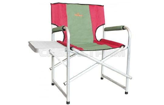Кресло Woodland Super Max+, складное, усиленное, со столиком 55x62x63 см (алюминий)