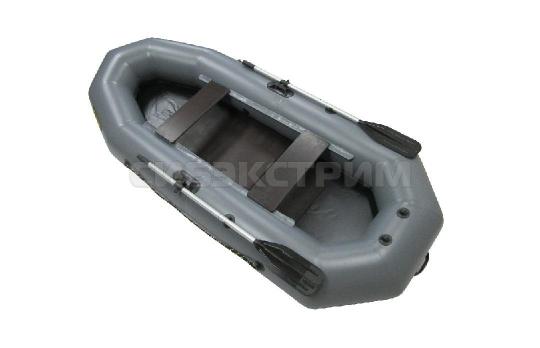 Лодка ПВХ Leader Компакт-280 гребная, серый