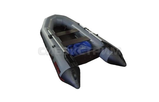 Лодка ПВХ Leader Тайга-270 (Серый) New