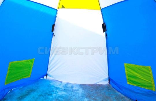 Палатка рыбака Стэк 3 полуавтомат Классика