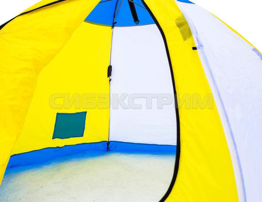 Палатка рыбака Стэк ELITE 4 полуавтомат дышащая
