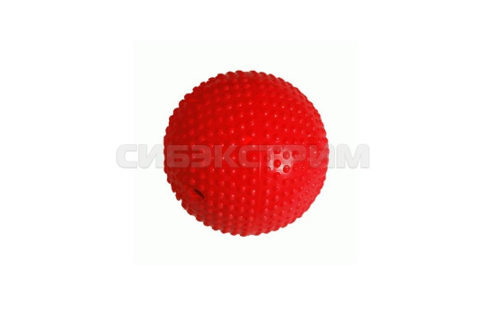 Мяч хоккейный красный